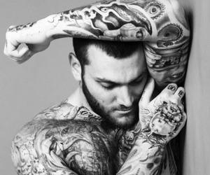 Gorgeous inked man